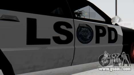 Police LS with Lightbars for GTA San Andreas right view