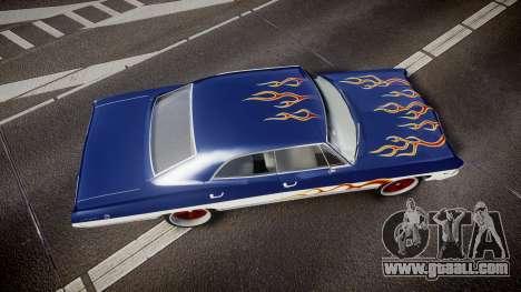 Chevrolet Impala 1967 Custom livery 3 for GTA 4 right view