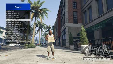 GTA 5 Scenario Menu 1.1 fourth screenshot