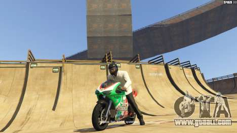 GTA 5 Double-Loop Racing-Court third screenshot