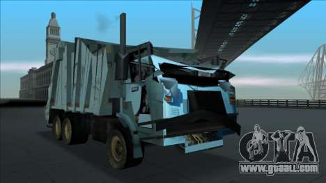 TDK Volvo Xpeditor Garbage Crash Version for GTA San Andreas