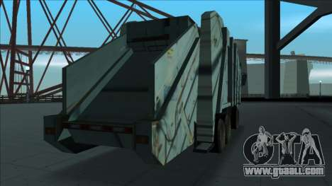 TDK Volvo Xpeditor Garbage Crash Version for GTA San Andreas right view