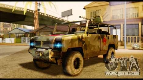 BAW BJ 2022 for GTA San Andreas