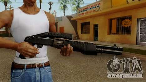Original HD Combat Shotgun for GTA San Andreas third screenshot