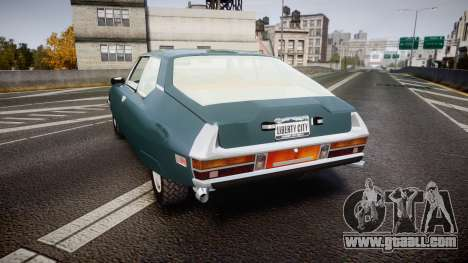 Citroen SM for GTA 4 back left view