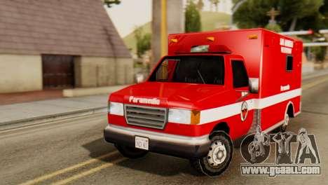 SAFD Ambulance for GTA San Andreas