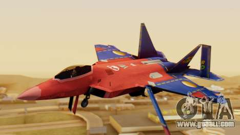 F-22 Raptor MARIO for GTA San Andreas