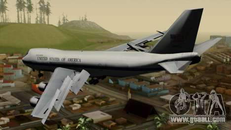 Boeing 747 E-4B for GTA San Andreas left view
