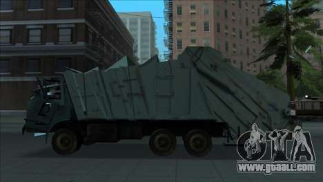 TDK Volvo Xpeditor Garbage Crash Version for GTA San Andreas left view