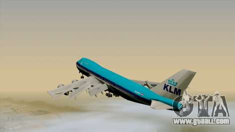 Boeing 747-200B KLM for GTA San Andreas left view