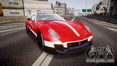Ferrari 599XX 2010 Scuderia Ferrari for GTA 4