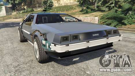 DeLorean DMC-12 Back To The Future v0.1 for GTA 5