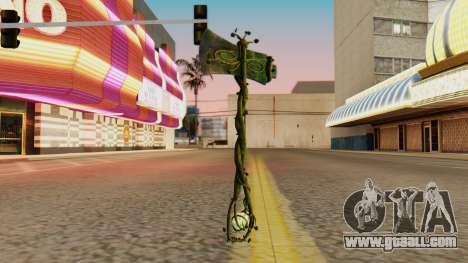 Nature Axe for GTA San Andreas