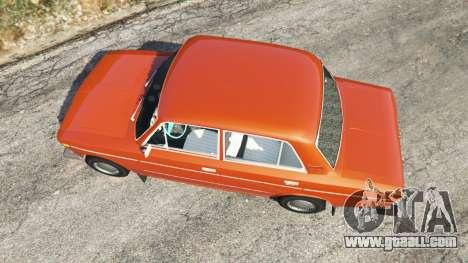 GTA 5 VAZ-2106 back view