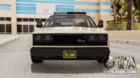 GTA 5 Albany Esperanto Police Roadcruiser IVF for GTA San Andreas side view