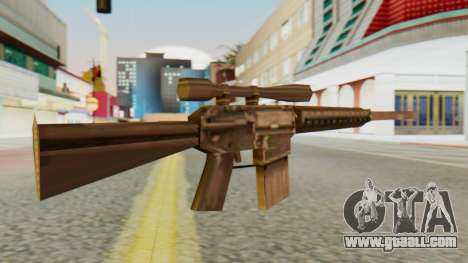 SR-25 SA Style for GTA San Andreas second screenshot