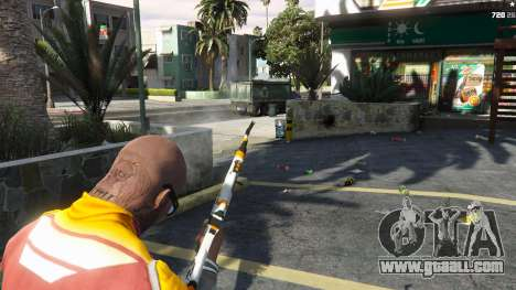 GTA 5 AK47 - Asiimov Edition fourth screenshot