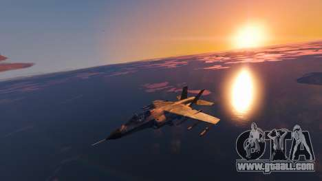 GTA 5 Camouflage coloring Hydra third screenshot