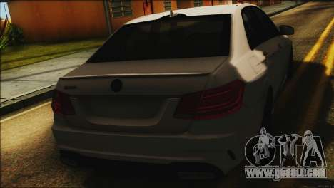 Mercedes-Benz E63 Brabus BUFG Edition for GTA San Andreas back view