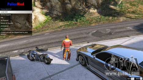 GTA 5 PoliceMod 2 2.0.2 second screenshot