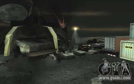 Automotive junkyard v0.1 for GTA San Andreas forth screenshot