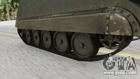 M113 from CoD BO2 for GTA San Andreas back left view