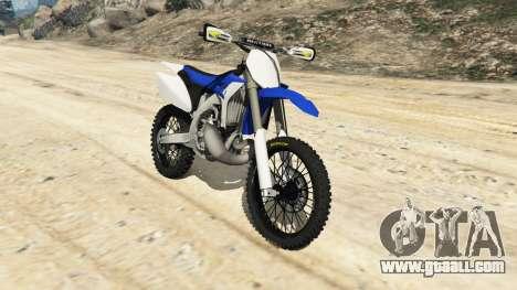 Yamaha YZ 250 [Beta] for GTA 5