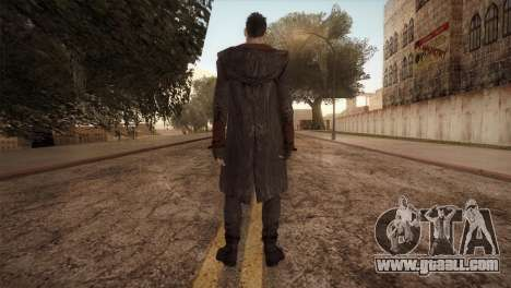 Dante from DMC for GTA San Andreas second screenshot