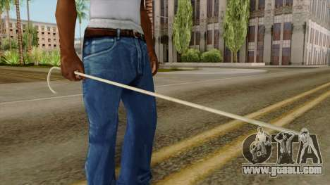 Original HD Cane for GTA San Andreas third screenshot