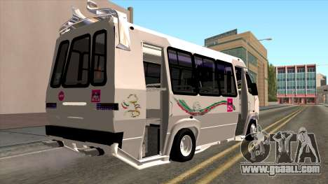 Ford Prisma IV Microbus for GTA San Andreas left view