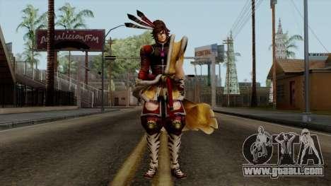 Sengoku Basara 3 - Maeda Keiji for GTA San Andreas second screenshot