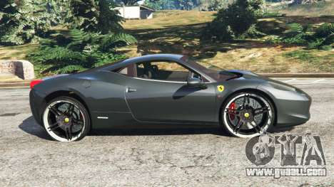 GTA 5 Ferrari 458 Italia v1.0.4 left side view