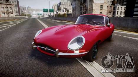 Jaguar E-type 1961 for GTA 4