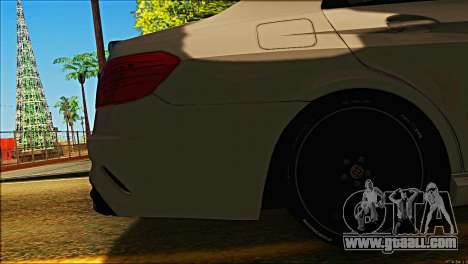 Mercedes-Benz E63 Brabus BUFG Edition for GTA San Andreas side view