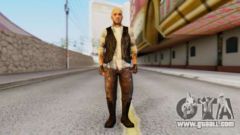 [GTA5] The Lost Skin3 for GTA San Andreas second screenshot