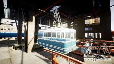 GTA V Cable Car for GTA 4 third screenshot