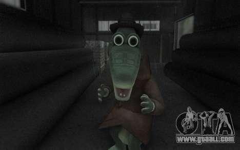 Crocodile Gena for GTA San Andreas forth screenshot