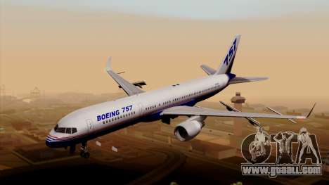 Boeing 757-200 (N757A) for GTA San Andreas