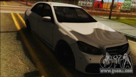 Mercedes-Benz E63 Brabus BUFG Edition for GTA San Andreas back left view