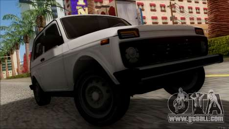 VAZ 2121 Niva BUFG Edition for GTA San Andreas inner view