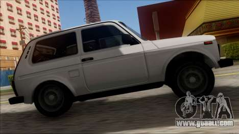 VAZ 2121 Niva BUFG Edition for GTA San Andreas back view