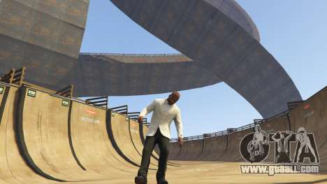 GTA 5 Double-Loop Racing-Court second screenshot