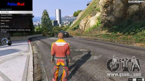 GTA 5 PoliceMod 2 2.0.2 fourth screenshot
