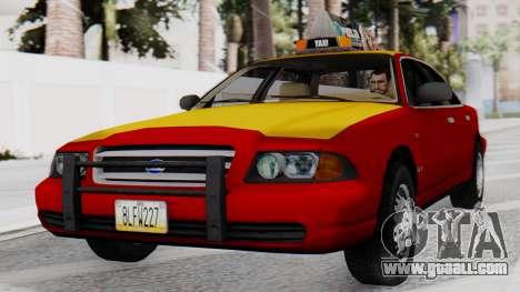 Dolton Broadwing Taxi for GTA San Andreas