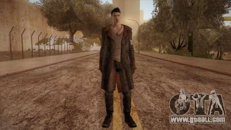 Dante from DMC for GTA San Andreas