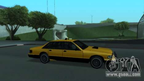 New Taxi for GTA San Andreas engine