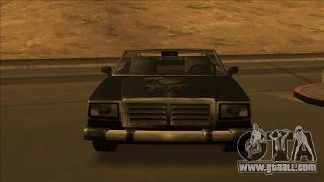 FreeShow Feltzer for GTA San Andreas wheels