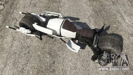 GTA 5 Batpod back view