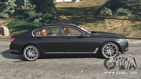 GTA 5 BMW 750Li 2016 left side view