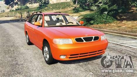 Daewoo Nubira I Wagon CDX US 1999 for GTA 5